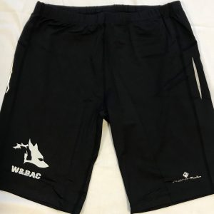 Men's Black Ron Hill Lycra Shorts