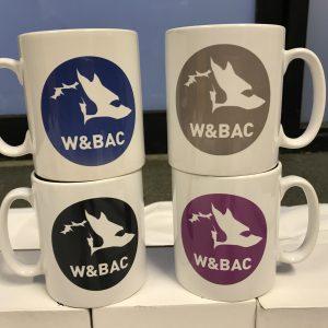 White Mug with WBAC logo
